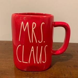 Rae Dunn MRS. CLAUS Christmas Mug